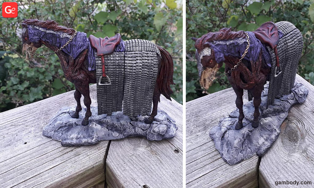 Wight Horse Game of Thrones 3D printing trends