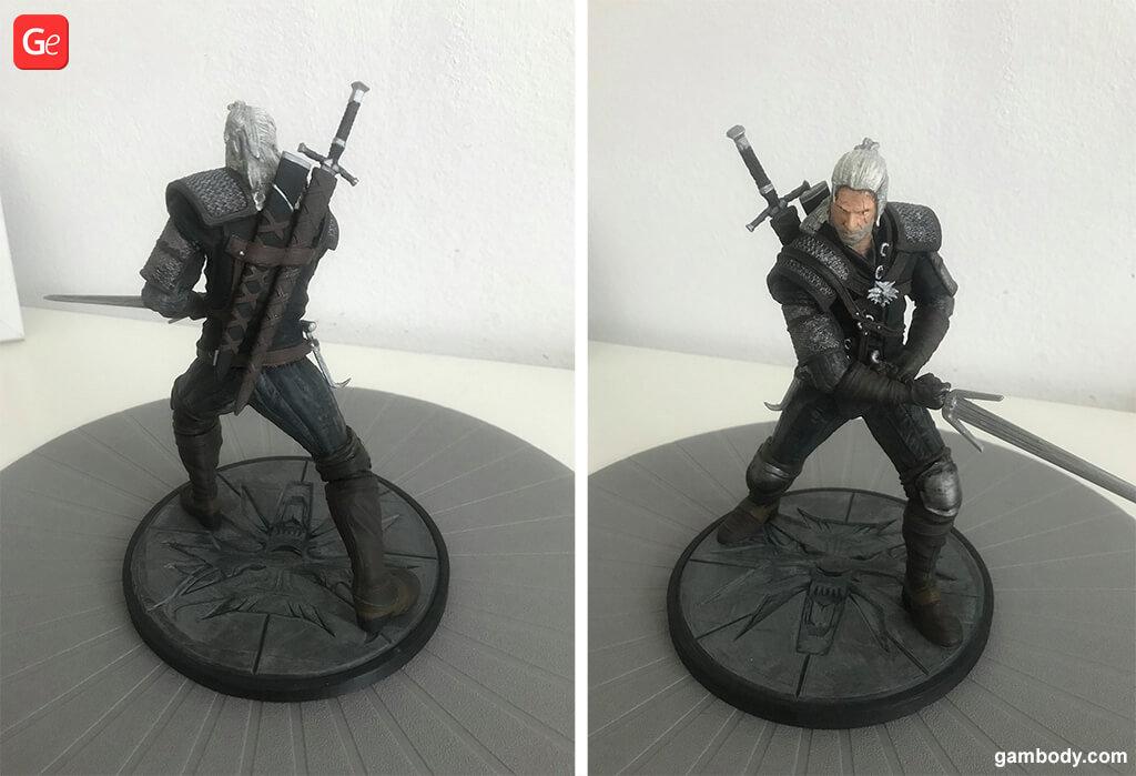 Witcher statue