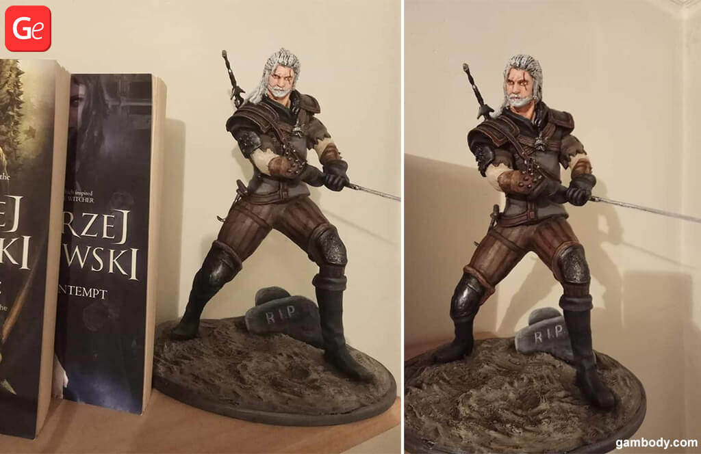 Witcher Geralt of Rivia 3D printing trends