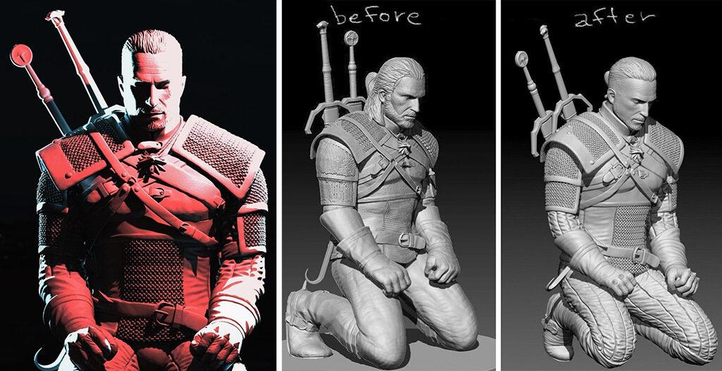 Witcher 3D printer models