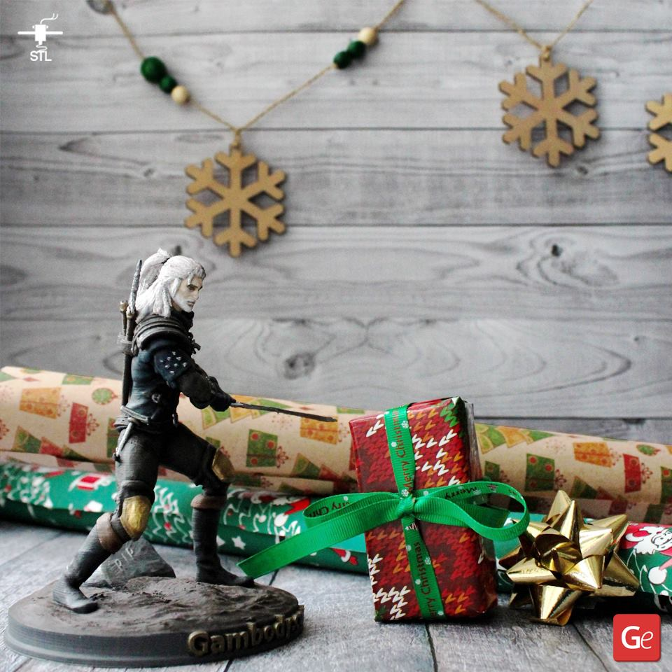 Witcher STL files Christmas 2019