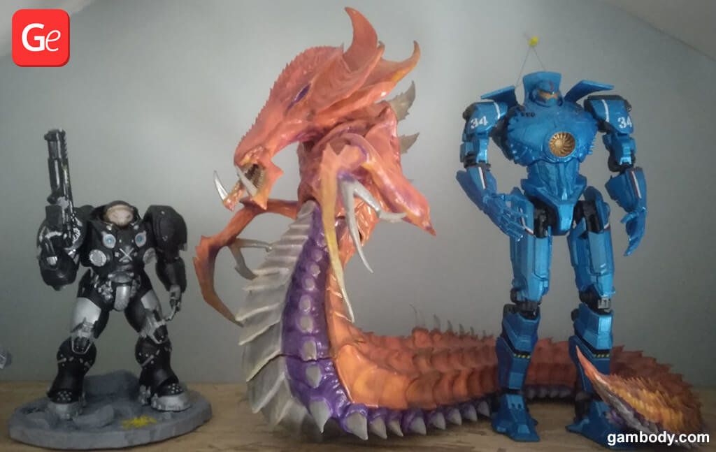 3D printed toys for collection