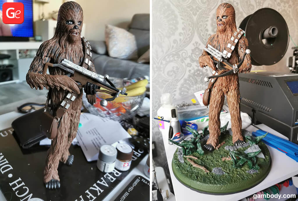 Chewbacca toy 3D printing trends