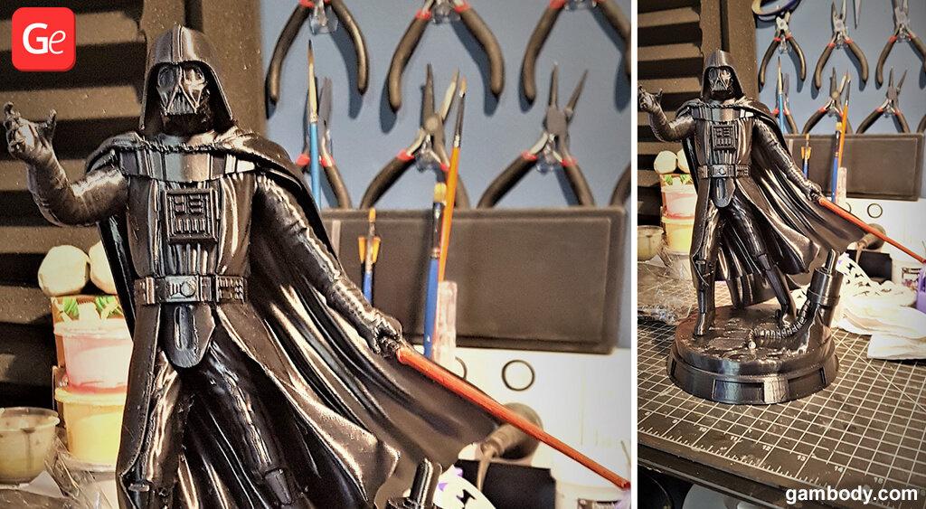 Darth Vader 3D printed figurine