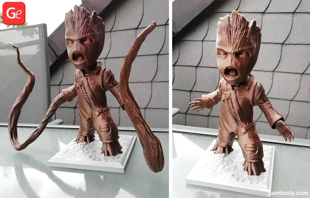 Baby Groot Ravager toy trending 3D prints 2019