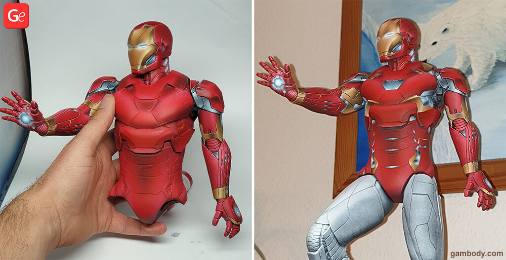 Iron Man 3D printed toys STL