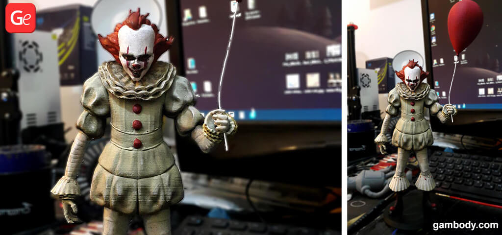 Pennywise toy 3D printed trends 2019