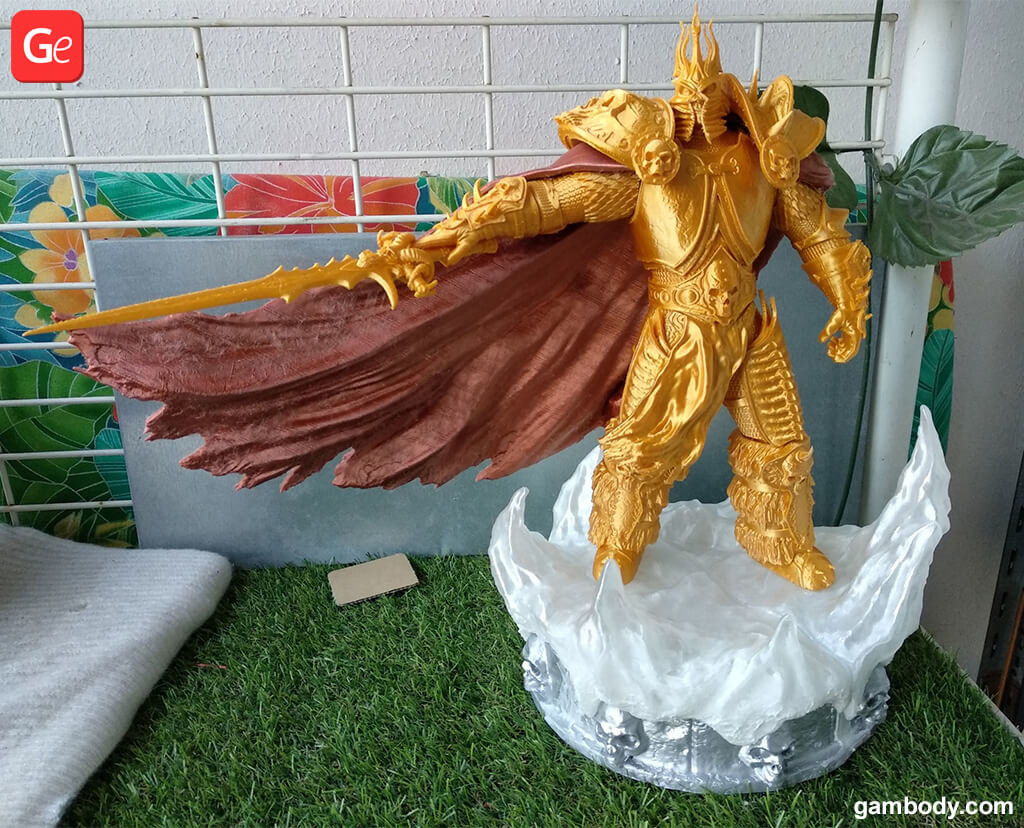 Lich King WOW toy trending 3D prints 2019