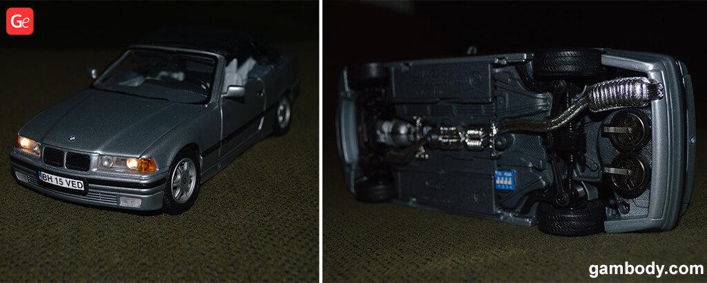 1:24 Maisto BMW E36 with lights