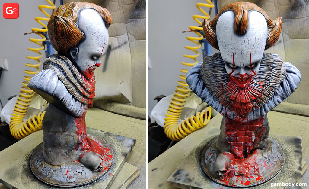 Pennywise toy figure 3D printed trends 2019