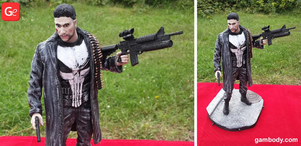 The Punisher toy 3D printing trend