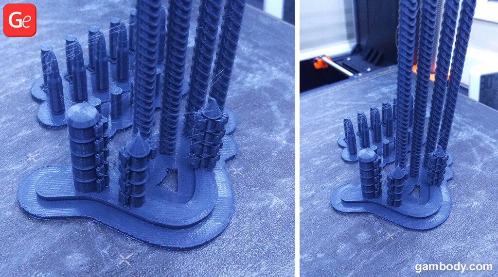 Rebar and Ammo 3D printed for Terran Marine figure