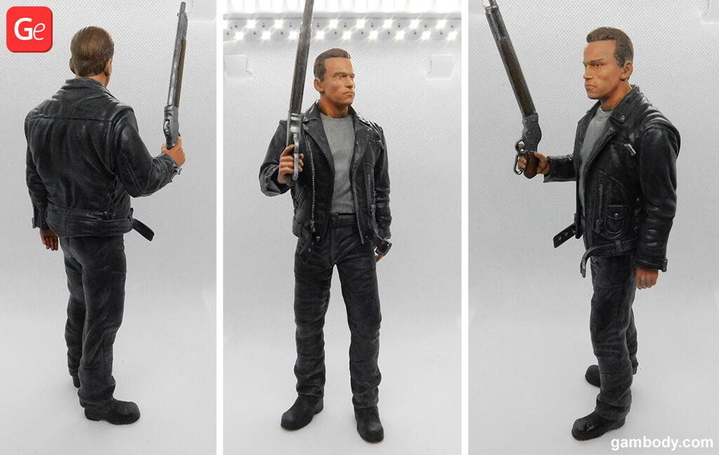 Terminator T-800 3D printed figurines