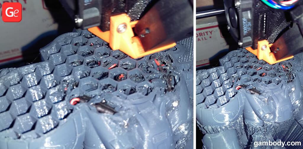 Terran Marine figure 3D printing resume