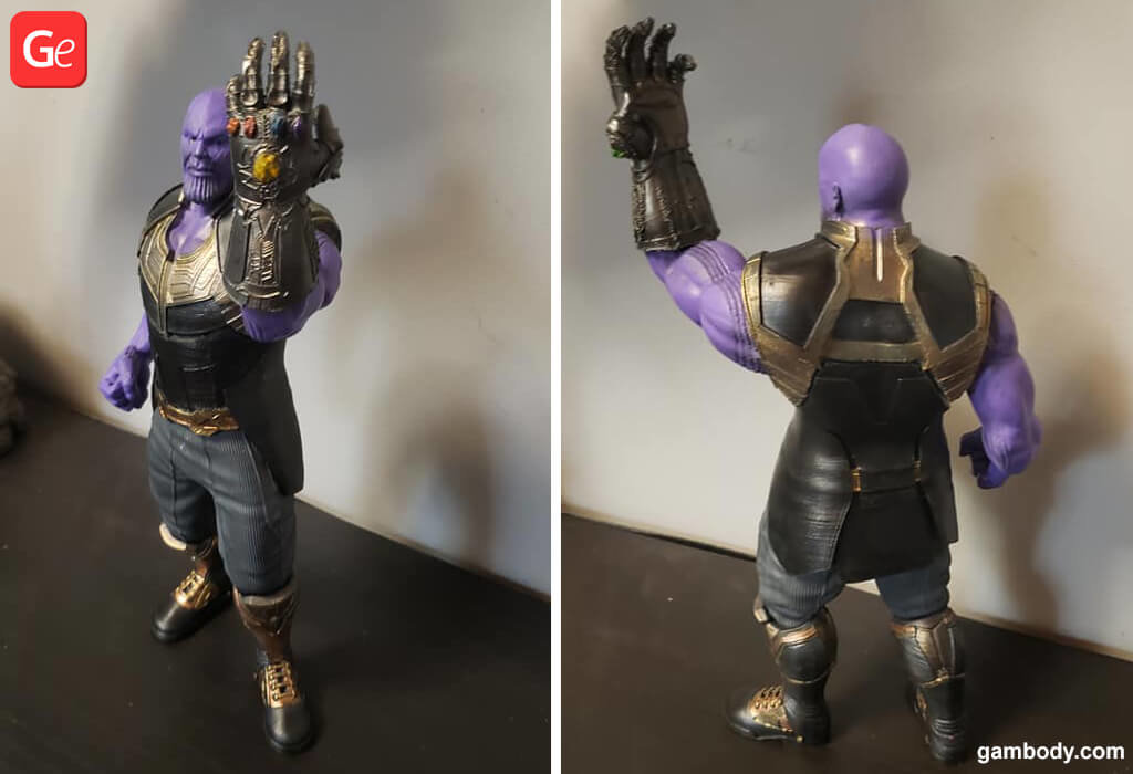 Thanos toy trending 3D prints in 2019
