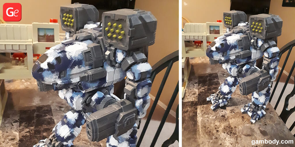 Timber Wolf mech model 3D printing trends 2019