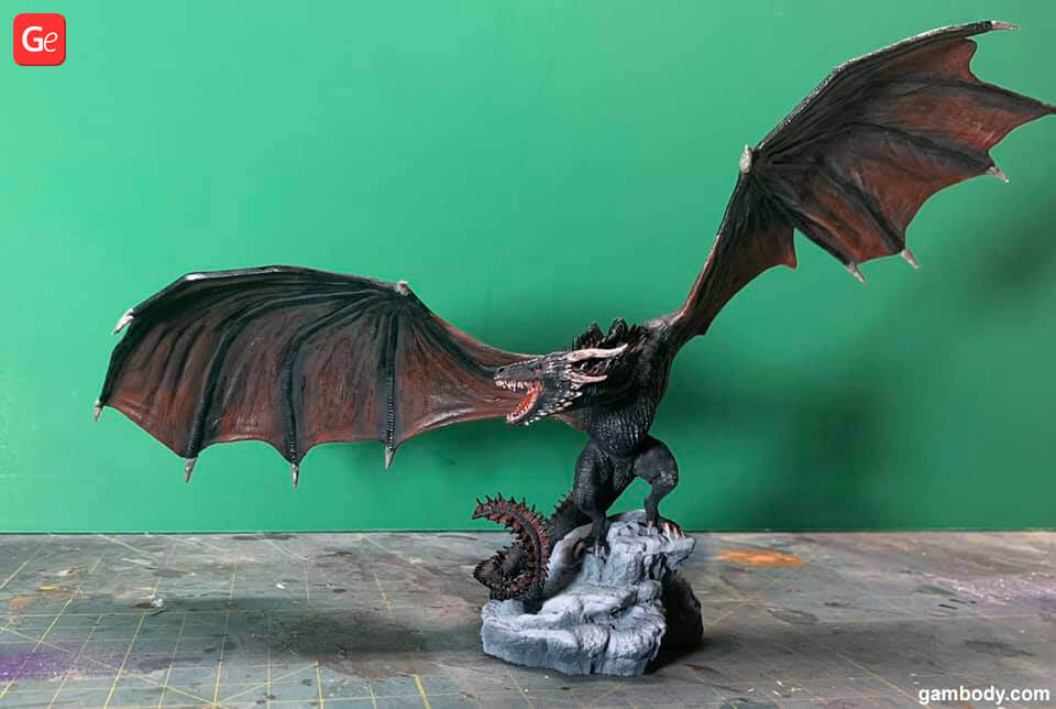 Viserion 3D printed toys trends 2019