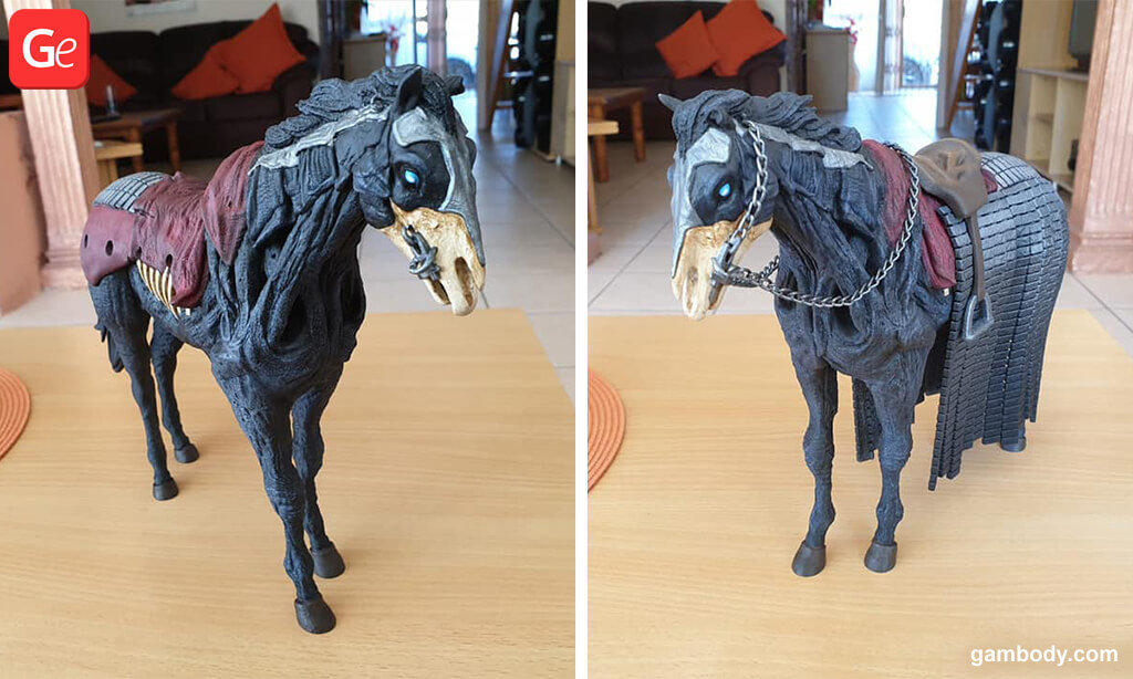 Wight Horse Game of Thrones 3D printed toy