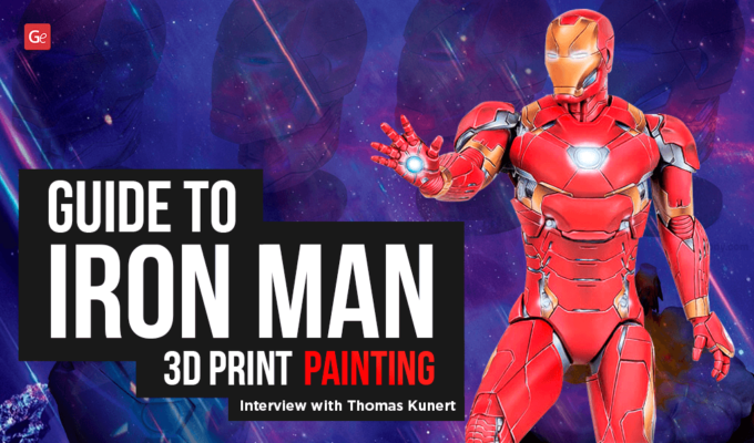 Guide to Iron Man 3D Print Painting: Interview with Thomas Kunert