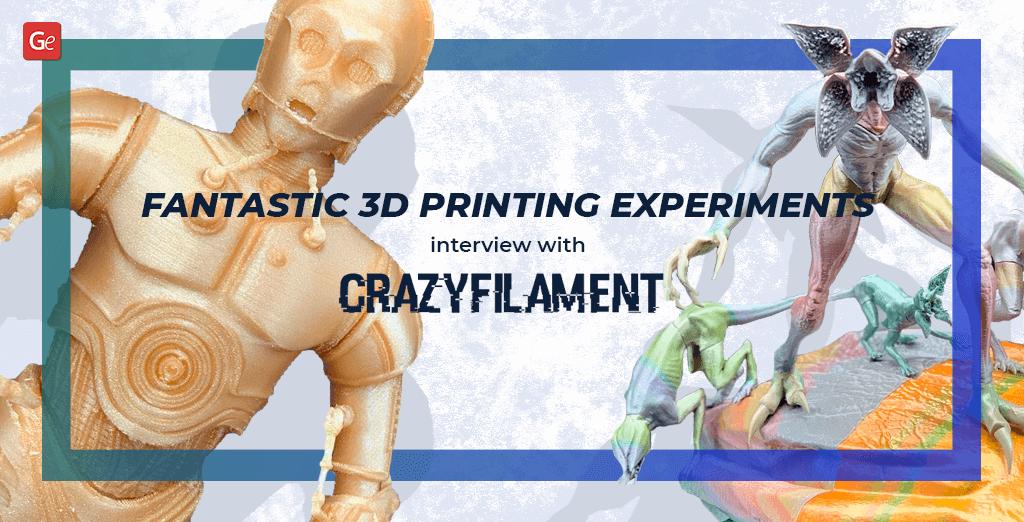 3D printing experiments
