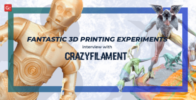 Fantastic 3D Printing Experiments by a Hobbyist: Interview with Crazyfilament