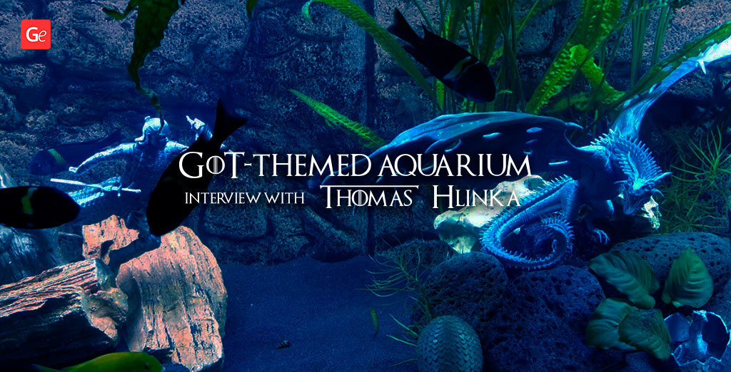 Aquarium decorations 3D printed