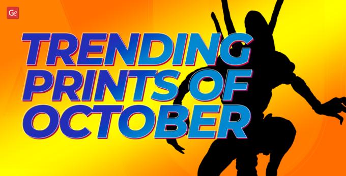 October Trending 3D Printing Models STL Files to Download