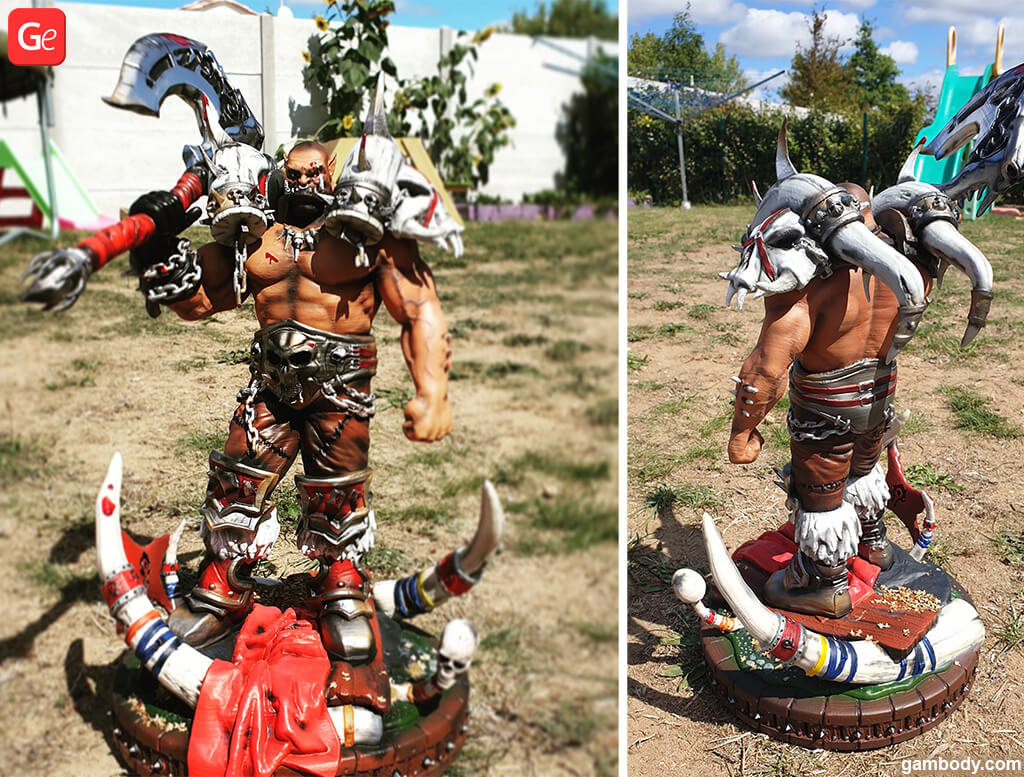 Garrosh Hellscream World of Warcraft trending figurines to 3D print
