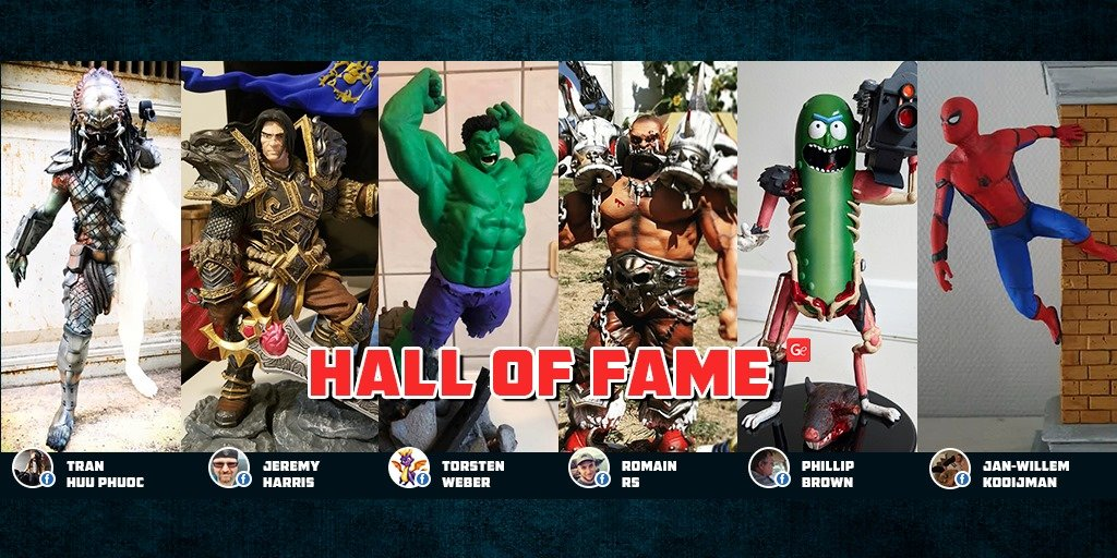 October Gambody Hall of Fame winners