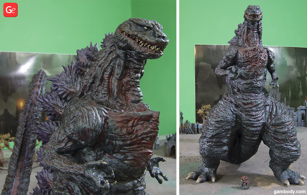 Shin Godzilla October 3D printed trends