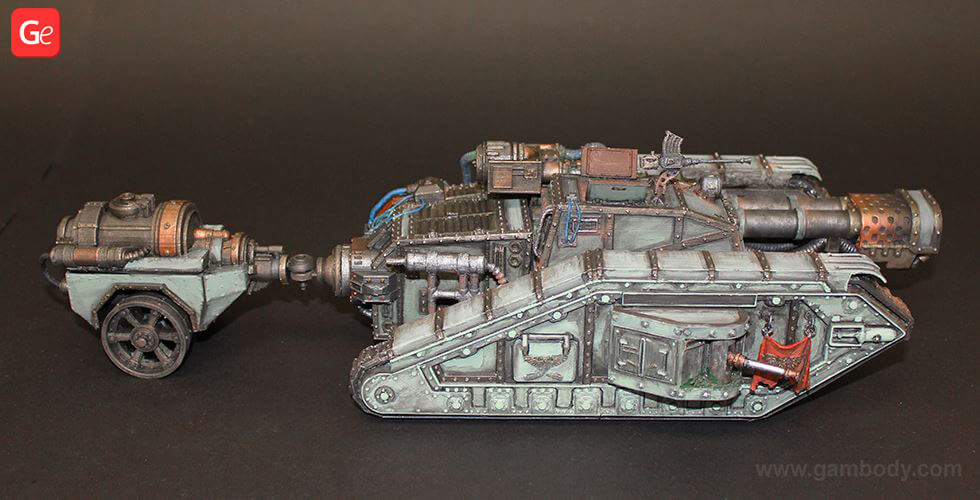 Malcador Infernus Flamethrower tank 3D printed model