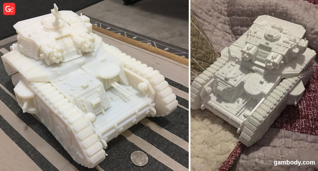 Macharius Vulcan tank 3D printing STL files