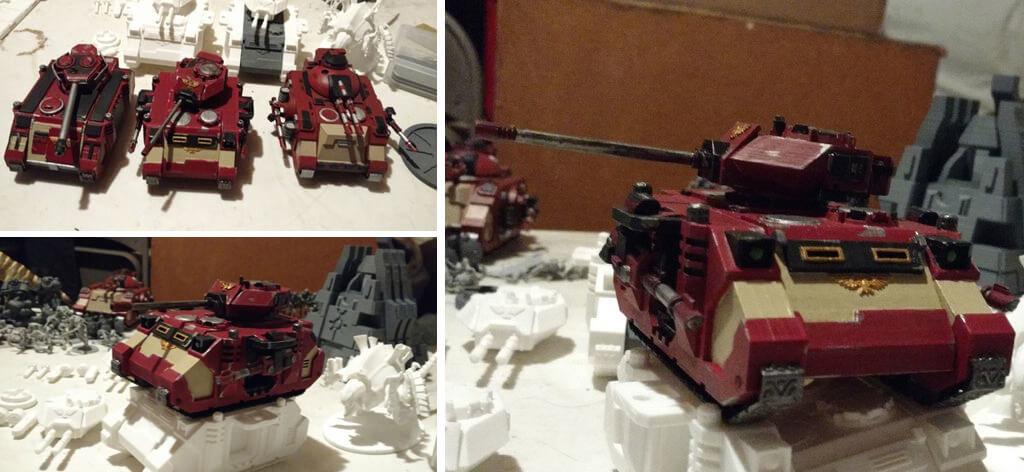 Warhammer 40K Predator Tank 3D printing STL files