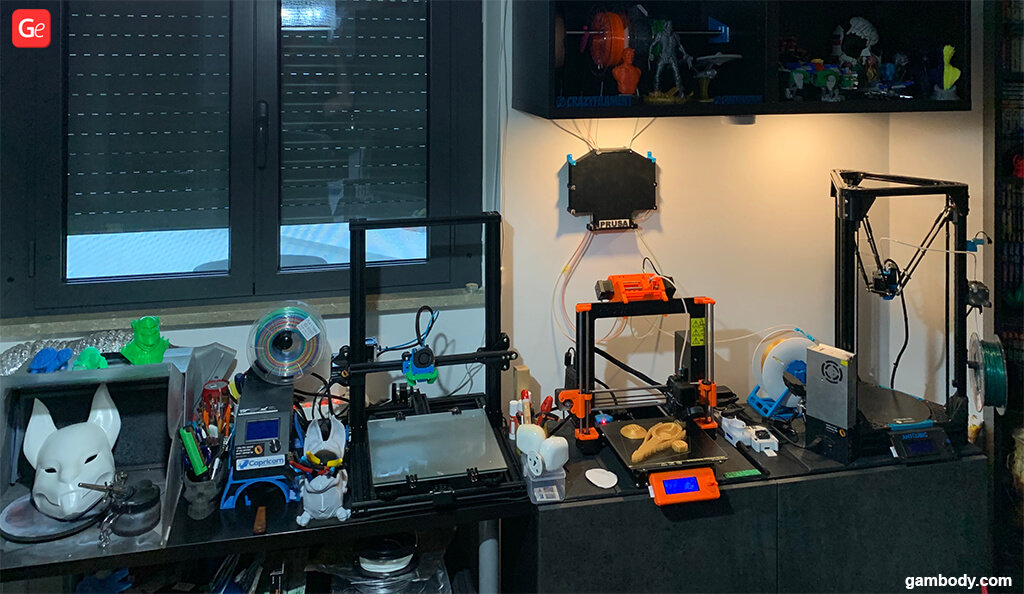Workshop for 3D printing experiments