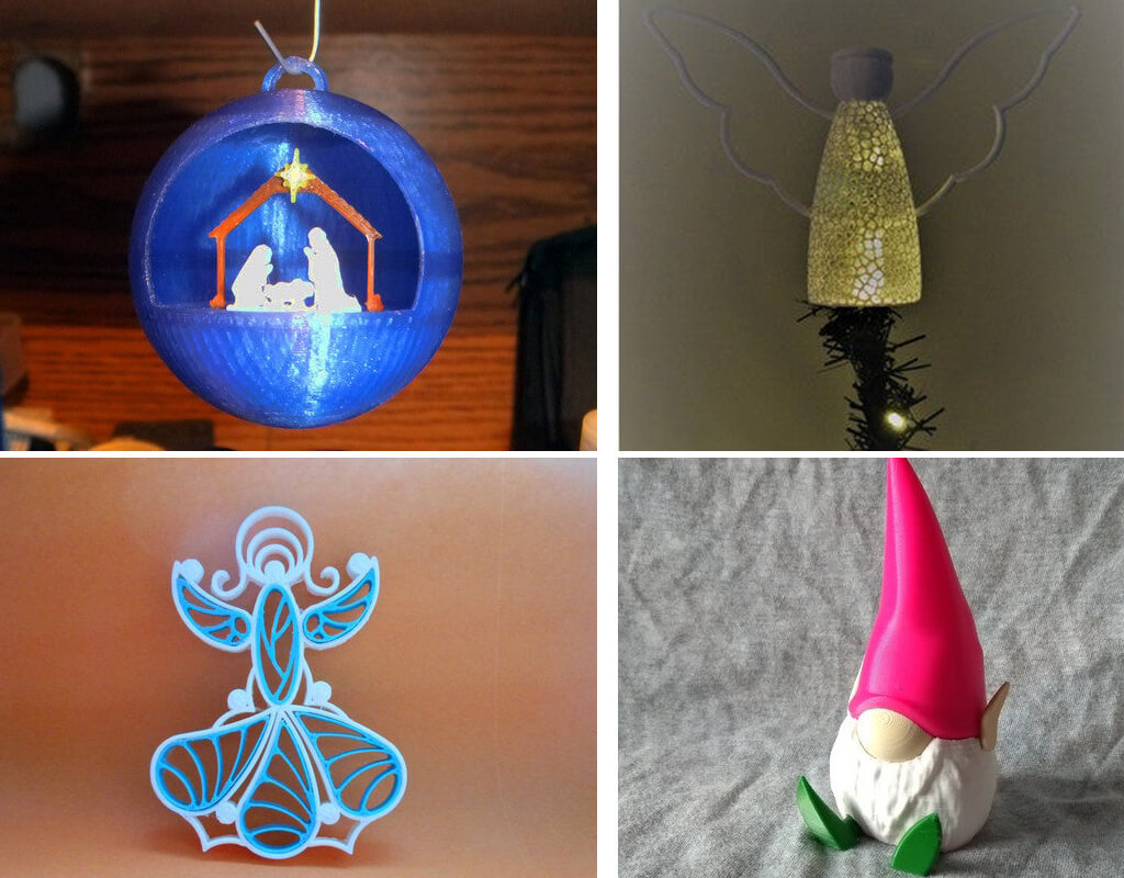 Best 3D printing Christmas ideas