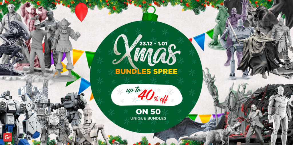 Christmas bundles with discounts on Gambody