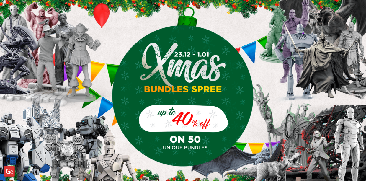 Gambody Christmas 2019 Bundles Spree