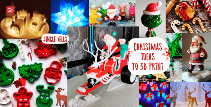 Top 16 3D Printed Christmas Ornaments, Gifts, Decorations to Make in 2021