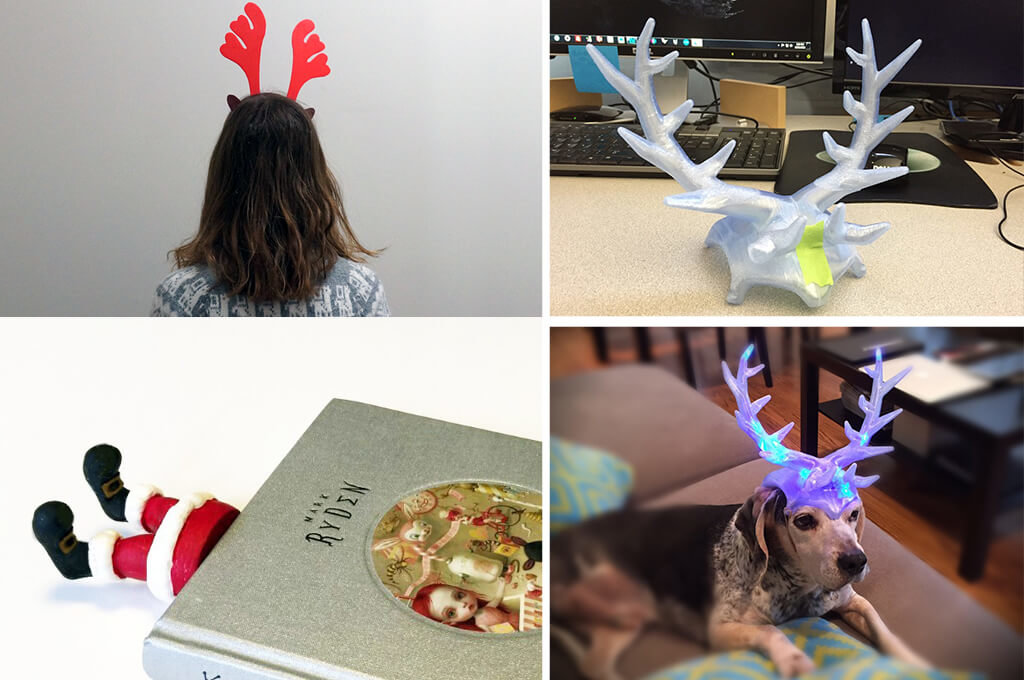 Reindeer headband 3D printing ideas STL files