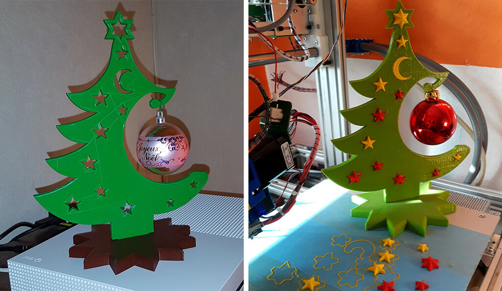 Decorative Christmas tree 3D printing Ideas and décor trends 2020