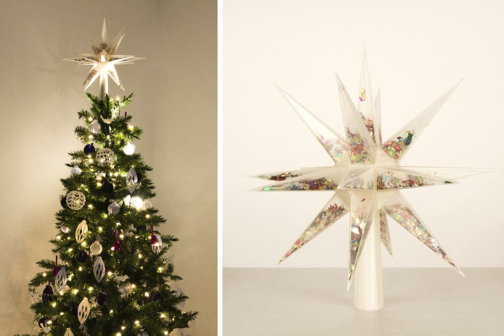 Confetti filled tree topper 3D printing ideas 2020
