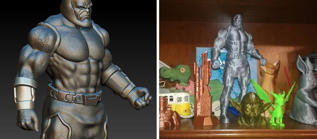 Darkseid DC Comics villains STL files