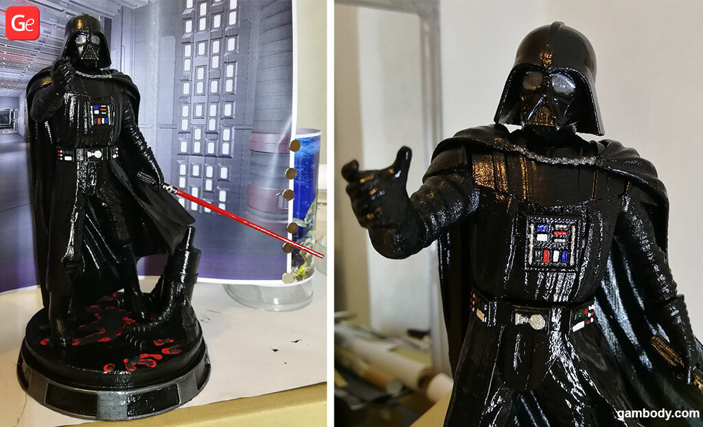 Darth Vader Star Wars popular 3D printing models of November