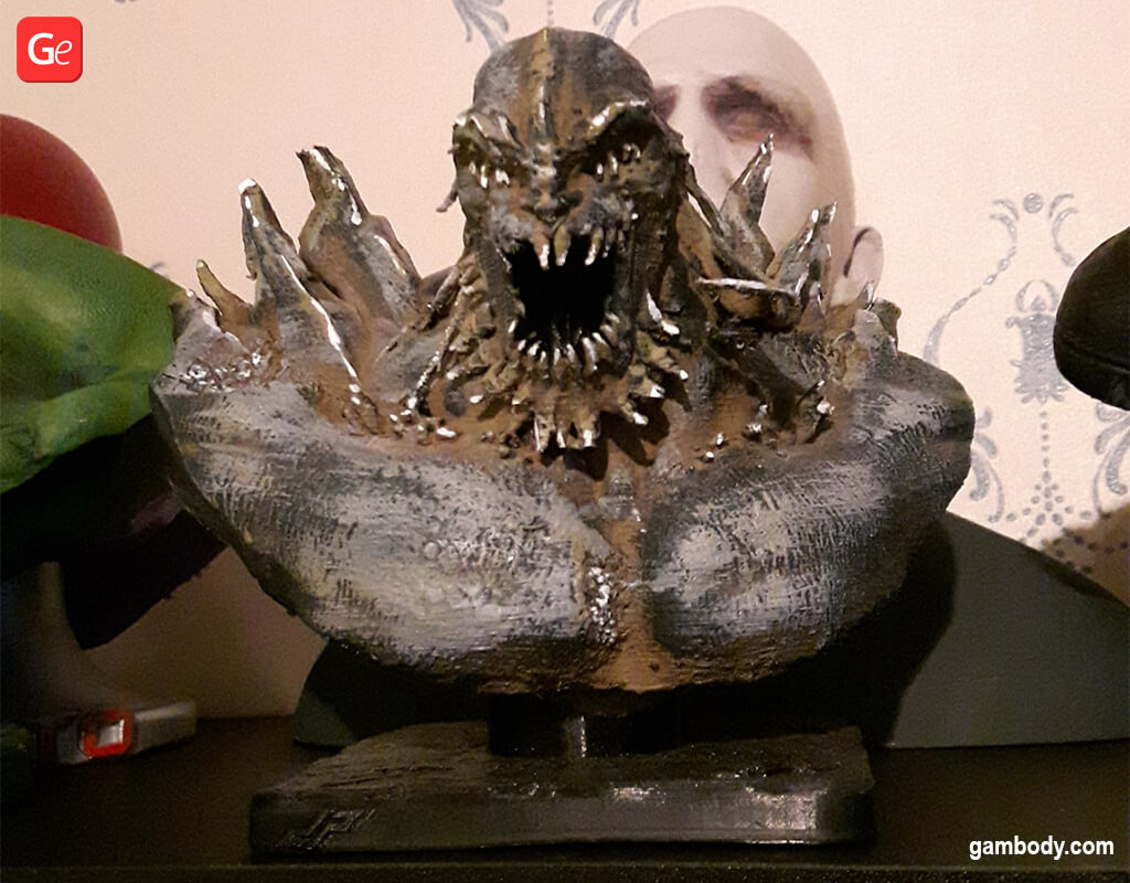 Doomsday bust 3D printing model DC Comics villains