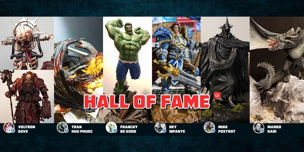 Popular Hall of Fame 3D printing models in November 2019