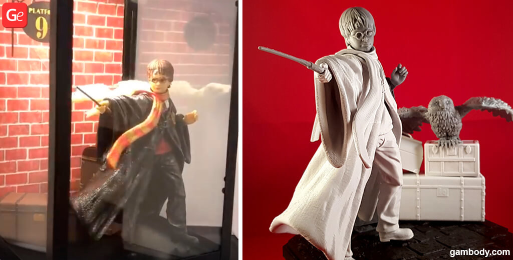 Harry Potter 3D printing model popular in November 2019