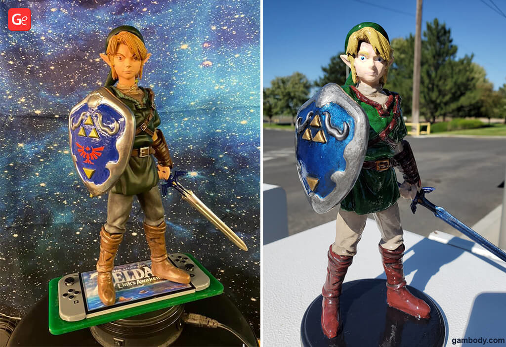 Link Legend of Zelda popular 3D printing models with STLs