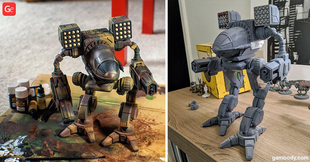 MWO MadCat 3D printing models STLs popular in November