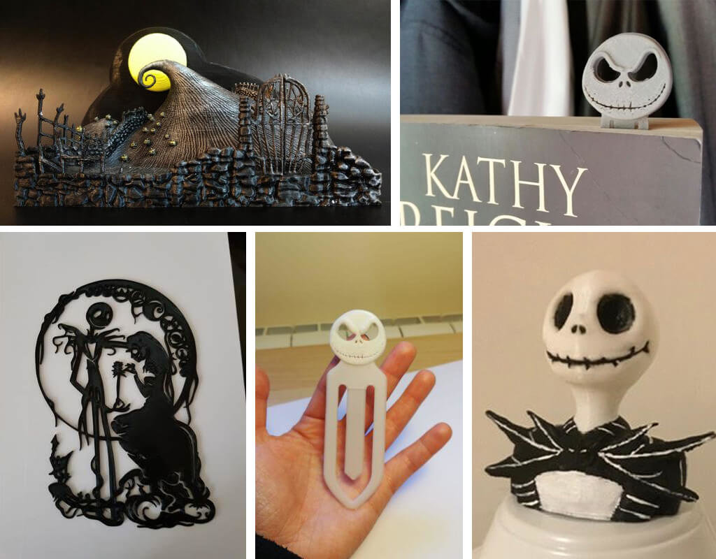 Nightmare Before Christmas STL Files 3D printing ideas 2020