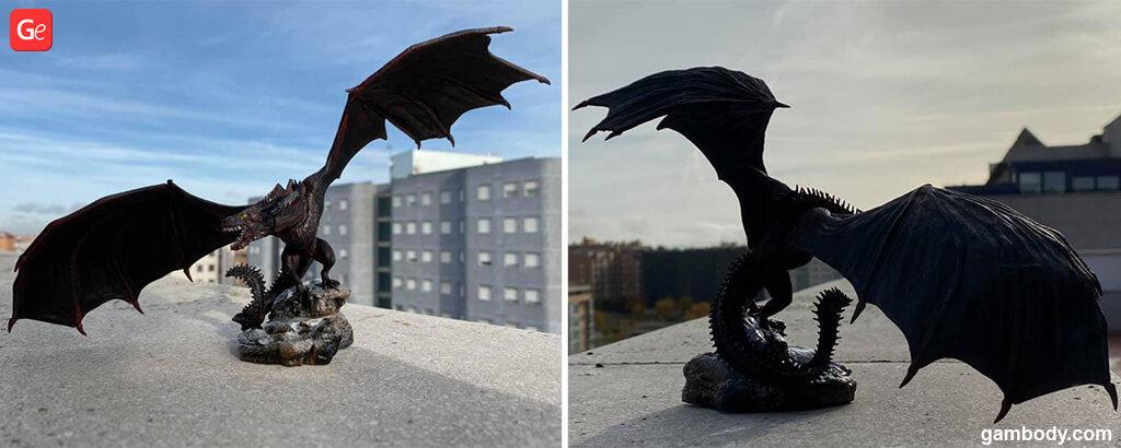 Viserion Game of Thrones 3D figurine STLs popular in November